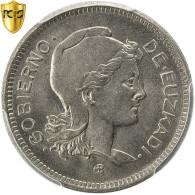 Monnaie, SPAIN CIVIL WAR, EUZKADI, Peseta, 1937, Bruxelles, PCGS, MS65, KM:1 - Zone Nationaliste