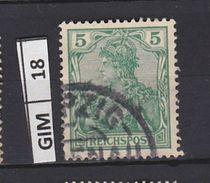 GERMANIA IMPERO , 1902allegoria, 3 Pf, Usato - Deutschland