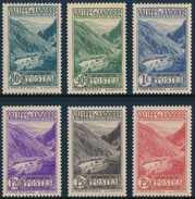 ANDORRA 1937- 43 GORGE DE ST. JULIA - Yvert 72-79, 6v**MNH - Neufs