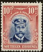 Southern Rhodesia Scott #9, 1924, Hinged - Southern Rhodesia (...-1964)