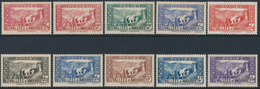 ANDORRA 1937- 43 CHAPPELLE DE MERITXELL - Yvert 77-90, 10v**MNH - Andorre Français