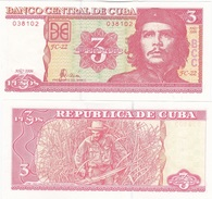 Cuba - 3 Pesos 2006 UNC Lemberg-Zp - Cuba