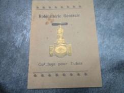 """Robinetterie """"JENKINS"""" Et Outillage Pour Tubes - Eugène GRESILLON 82, Avenue De La République à PARIS (56 Pages) - Publicités"""