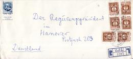 Israël - Recommandé/Registered Letter/Einschreiben -  Ramat Gan - 1205 - Israël