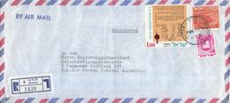 Israël - Recommandé/Registered Letter/Einschreiben -  6 Holon - 1430 - Israël