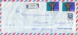 Israël - Recommandé/Registered Letter/Einschreiben -  21 Netanya - 02475 - Israël
