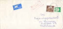 Israël - Recommandé/Registered Letter/Einschreiben -  Netanya - 08227 - Israël
