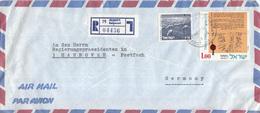 Israël - Recommandé/Registered Letter/Einschreiben - Rehovot - 04436 - Israël