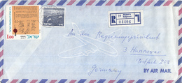 Israël - Recommandé/Registered Letter/Einschreiben - 19  Rehovot - 04406 - Israël