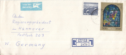 Israël - Recommandé/Registered Letter/Einschreiben - Qiryat Bialik - 2970 - Israël