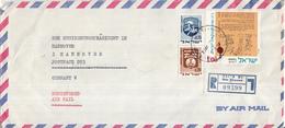 Israël - Recommandé/Registered Letter/Einschreiben - Nes Ziyyona - 09399 - Israël