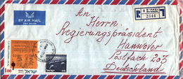 Israël - Recommandé/Registered Letter/Einschreiben - 8 Giv'atayim - 2344 - Israël