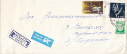 Israël - Recommandé/Registered Letter/Einschreiben - Hod Ha-Sharon - 08022 - Israël