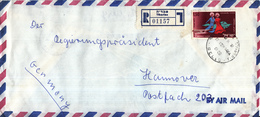 Israël - Recommandé/Registered Letter/Einschreiben - Tiberias - 01157 - Israël