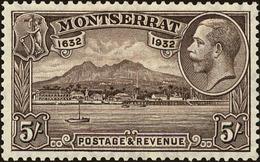 Montserrat Scott #84, 1932, Hinged - Montserrat