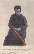 FRASNES-LEZ-BUISSENAL - Madame Albertine Fourdin, Veuve De Monsieur Pierre Joseph Gérard Née Le 27 Juin 1912 - Frasnes-lez-Anvaing