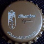 Alhambra Granada Football Club Bier Kronkorken Kroonkurken 2017 Soccer Beer Bottle Crown Cap Chapa Cerveza Capsule Biere - Beer