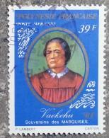 POLYNESIE - YT Aérien N°119 - Vaekehu Souveraine Des Marquises - 1977 - Oblitérés