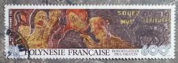 POLYNESIE - YT Aérien N°198 - Bois Sculpté De Paul Gauguin - 1987 - Oblitérés