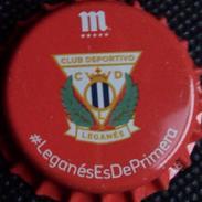 Mahou Leganés Football Club Bier Kronkorken Kroonkurken 2017 Soccer Beer Bottle Crown Cap Chapa De Cerveza Capsule Biere - Beer