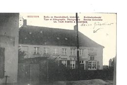 BEERNEM  POSTKAART   GESCHREVEN DOOR DUITSE SOLDAAT   SUPERNET    WO  I - Beernem