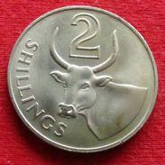 Gambia 2 Shillings 1966 KM# 5 Gambie - Gambia