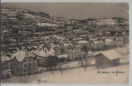 St. Gallen Im Winter En Hiver - Photo: Carl Künzli - SG St. Gallen