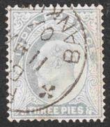 India - Scott #60 Used (2) - India (...-1947)