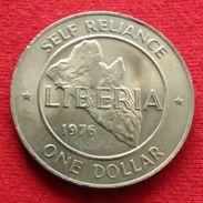 Liberia 1 Dollar 1976 - Liberia