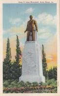 Louisiana Baton Rouge Huey P Long Monument 1955 Curteich - Baton Rouge