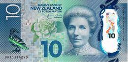 NEW ZEALAND 10 DOLLARS ND (2015) P-192a UNC  [NZ138a] - New Zealand