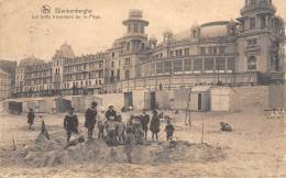 BLANKENBERGHE - Les Petits Travailleurs Sur La Plage - Blankenberge
