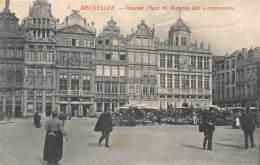 BRUXELLES - Grande Place Et Maisons Des Corporations - Places, Squares