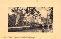 MALINES - Quai Du Sel Et Vieux Pont Gothique - Malines
