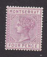 Montserrat, Scott #10, Mint Hinged, Victoria, Issued 1884 - Montserrat
