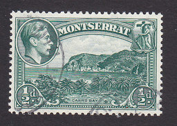 Montserrat, Scott #92a, Used, Carr's Bay, Issued 1941 - Montserrat