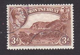 Montserrat, Scott #97a, Used, Carr's Bay, Issued 1941 - Montserrat