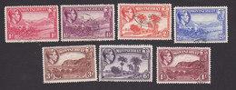 Montserrat, Scott #93-99, Used, Scenes Of Montserrat, Issued 1941 - Montserrat