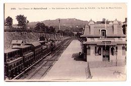 0301 - Les Côteaux De Saint-Cloud - Vue Intérieure De La Nouvelle Gare Du Val D'oise - F.Fleury Ph. éd. à Paris - N°2108 - Saint Cloud