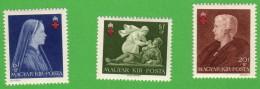 HUN SC #B148-50 MH(HR) P13 1942 Hungarian Red Cross CV $9.00 (if NH) - Unused Stamps