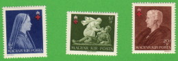 HUN SC #B148-50 MH(HR) P13 1942 Hungarian Red Cross CV $9.00 (if NH) - Hungary