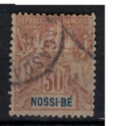 NOSSI BE       N°  YVERT     35         OBLITERE       ( O   1/63  ) - Used Stamps