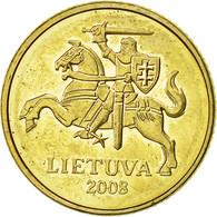 Lithuania, 10 Centu, 2008, TTB+, Nickel-brass, KM:106 - Lithuania