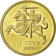 Lithuania, 10 Centu, 2009, TTB+, Nickel-brass, KM:106 - Lithuania