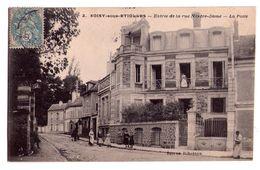 0307 - Soisy Sous Etiolles - Entrée De La Rue Notre Dame - La Poste - éd. Ribotton- N°2 - Autres Communes
