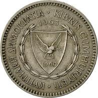 Chypre, 50 Mils, 1963, TTB, Copper-nickel, KM:41 - Cyprus