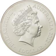 Australie, Elizabeth II, Dollar, 2012, Royal Australian Mint, FDC, Argent - Australie