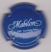 Capsule Mousseux ( MABILON  Mousseux Allemagne , Bleu Et Blanc ) {S03-18} - Sparkling Wine