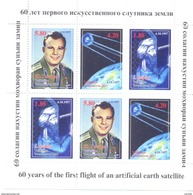 2017. Tajikistan, Space, 60y Of Space Age, Sheetlet Perforated, Mint/** - Tadschikistan