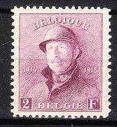 176**  Roi Albert Casqué - LA Bonne Valeur - MNH** - Centrage+++ - Timbre Signé - Vendu à 15% Du COB!!!! - 1919-1920 Albert Met Helm